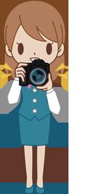 ホームページに必要な素材撮影?